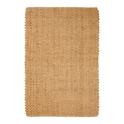 Natural Area Rugs - NaturalAreaRugs Brentwood Jute Rug, Hand Woven, 9 Ft. X 12 Ft. - Free & Same Day Shipping within Continental USA. International Shipping Available (Contact us for a quote). All natural 100% Jute, handwoven by Artisan rug maker. Jute is naturally durable yet soft. Like any rug, rug pads are recommended as it will prolong the longevity of your jute rug and protect hardwood floor. Do not pull loose fiber, clip and remove the loose ends with scissors. Variations are part of the natural beauty of natural fiber.