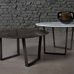 Salvatori presents DRITTO by Piero Lissoni - DRITTO dinner, tea & coffee tables