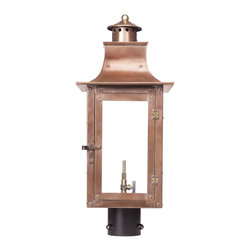 Elk Lighting - Elk Lighting Maryville 7914-WP Outdoor Gas Post Lantern in Solid Brass & Aged Co - 7914-WP Outdoor Gas Post Lantern in Solid Brass & Aged Copper Finish belongs to Maryville Collection by Elk Lighting Outdoor Gas Post Lantern Maryville Collection In Solid Brass In an Aged Copper finish. Post Lantern (1)