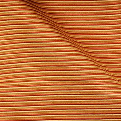 Solid W/Pattern - Saffron Upholstery Fabric - Item #1010513-551.