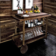 Traditional Bar Carts by The New Traditionalists