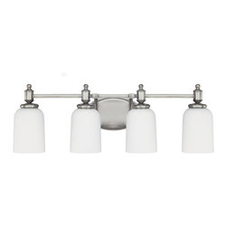 Capital Lighting - Capital Lighting 8444AN-102 Covington 4 Light Vanity Fixture - Capital Lighting 8444-102 Features: Capital Lighting 8444-102 Specifications: A family-owned company located just outside Atlanta, Georgia, Capital Lighting prides itself in delivering stylish, high-quality products at affordable prices.
