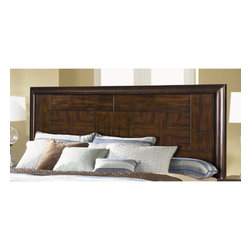 "Magnussen - Carleton Panel Headboard - What could be more elegant than Sable-finished Mahogany hardwood? Perhaps the kiss of brushed nickel, jacket-clasp hardware. Or the dramatic contrast of relief panels. With Carleton, introducing Mid-Century style is as effortless as entering the room. Features: -Carleton collection.-Frame Material: Wood.-Distressed: No.-Gloss Finish: No.-Solid Wood Construction: Yes.-Powder Coated Finish: No.-Hardware Material: Metal.-Non Toxic: Yes.-Scratch Resistant: No.-Adjustable Height: No.-Wood Molding: No.-Lighting Included: No.-Wall Mounted: No.-Reversible: No.-Media Outlet Hole: No.-Built In Outlets: No.-Finished Back: Yes.-Hidden Storage: No.-Freestanding: No.-Frame Required: Yes.-Frame Included: No.-Drill Holes for Frame: Yes.-Swatch Available: No.-Eco-Friendly: No.-Product Care: Wipe with a damp cloth and use a mild soap if necessary and then dry after cleaning. Be careful when using commercial cleaners and follow all manufacturer instructions, test them on a small inconspicuous area first. Do not use chemical cleaners or glass cleaners on finish as they may break down the finish..-Commercial Use: No.Specifications: -FSC Certified: No.-EPP Compliant: No.-CPSIA or CPSC Compliant: No.-CARB Compliant: Yes.-JPMA Certified: No.-ASTM Certified: Yes.-ISTA 3A Certified: No.-PEFC Certified: No.-General Conformity Certificate: Yes.-Green Guard Certified : No.Dimensions: -Overall Height - Top to Bottom (Size: California King): 58"".-Overall Width - Side to Side (Size: California King): 80"".-Overall Depth - Front to Back (Size: California King): 2"".-Overall Product Weight (Size: California King): 77 lbs.-Leg Height (Size: California King): 6"".-Leg Width - Side to Side (Size: California King): 2.75"".-Leg Depth - Front to Back (Size: California King): 2"".-Top of Headboard to Bed Frame (Size: California King): 44"".-Bottom of Headboard to Floor (Size: California King): 24"".-Overall Height - Top to Bottom (Size: King): 58"".-Overall Width - Side to Side (Size: King): 80"".-Overall Depth - Front to Back (Size: King): 2"".-Overall Product Weight (Size: King): 77 lbs.-Leg Height (Size: King): 6"".-Leg Width - Side to Side (Size: King): 2.75"".-Leg Depth - Front to Back (Size: King): 2"".-Top of Headboard to Bed Frame (Size: King): 44"".-Bottom of Headboard to Floor (Size: King): 24"".-Overall Height - Top to Bottom (Size: Queen): 58"".-Overall Width - Side to Side (Size: Queen): 64"".-Overall Depth - Front to Back (Size: Queen): 2"".-Overall Product Weight (Size: Queen): 68 lbs.-Leg Height (Size: Queen): 6"".-Leg Width - Side to Side (Size: Queen): 2.75"".-Leg Depth - Front to Back (Size: Queen): 2"".-Top of Headboard to Bed Frame (Size: Queen): 44"".-Bottom of Headboard to Floor (Size: Queen): 24"".Assembly: -Assembly Required: Yes.-Tools Needed: No.-Additional Parts Required: No.Warranty: -Product Warranty: 1 Year."