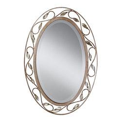 Murray Feiss - Murray Feiss Priscilla Traditional Oval Mirror X-SRA9011RM - Murray Feiss Priscilla Traditional Oval Mirror X-SRA9011RM