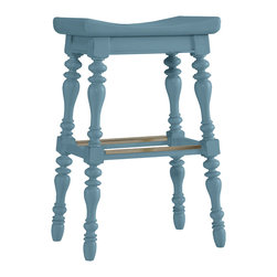 Stanley Furniture - Coastal Living Cottage 5 O'Clock Somewhere Bar Stool - Details as elaborate as the stories you'll tell. Shoes optional. Curved seat and foot rest for extended comfort. Made to order in America.