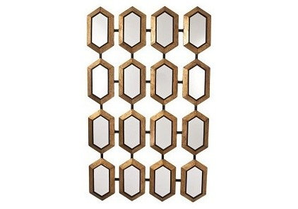 Eclectic Mirrors Hex mirror
