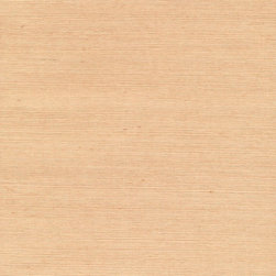 Wan Beige Grasscloth Wallpaper - With even cadence and sophisticated simplicity, this organic silk hue grasscloth wallcovering adds a subtle texture to walls.