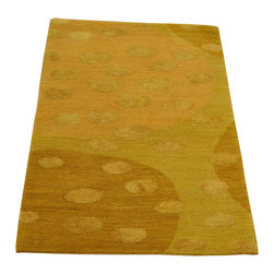 1800GetARug - Oriental Rug Hand Knotted Rug Modern Nepali Mat Wool and Silk Sh12282 - About Modern & Contemporary