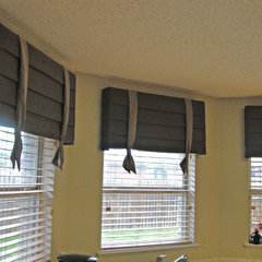 contemporary window treatments by Kite's Interiors
