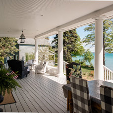 Traditional Porch by Edward Postiff Interiors