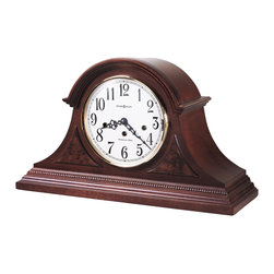 Howard Miller - Howard Miller Key-wound Chiming Mantel Clock | CARSON - 630216 CARSON