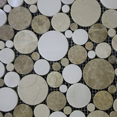 modern bathroom tile by TILE COLLECTION INC