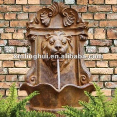 Bronze Lion Wall Fountain products, buy Bronze Lion Wall Fountain products from