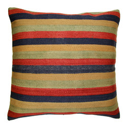 Rug & Relic - Kilim Floow Pillow - As seen in Better Homes & Gardens and Good Housekeeping magazines!