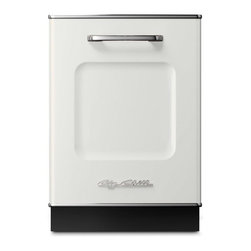 Big Chill - Retro Dishwasher, White - Now this is my kind of dishwasher! Big Chill makes gorgeous appliances that look like they came from another era. Love it!