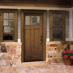 Craftsman Entry Door - HomeStory