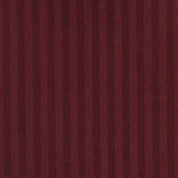 Burgundy Thin Two Toned Striped Upholstery Fabric By The Yard - Naturally colored upholstery fabrics are warm and inviting, which make this an excellent choice for any room! Of course, this fabric is excellent for correlating with other furniture.