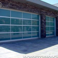 Modern Garage Doors by bp Glass Garage Doors
