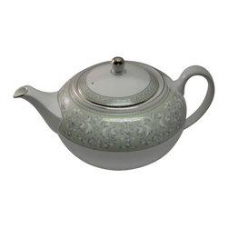 Wedgwood - Wedgwood Juliet Tea Pot W/Lid - Wedgwood Juliet Tea Pot W/Lid