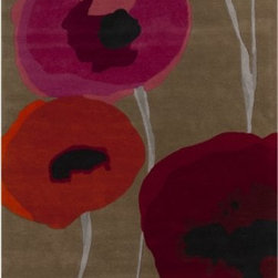 Surya Rugs - Surya SND-4508 Sanderson Contemporary Area Rug - 100% Wool. Style: Contemporary. Rugs Size: 8' x 11'. Note: Image may vary from actual size mentioned.
