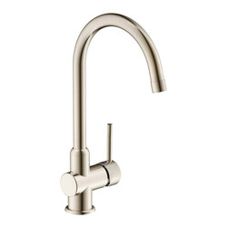 Estora - Estora Tavera Single Handle Kitchen Faucet, Brushed Nickel - Estora Single Handle Kitchen Faucet from the Tavera Collection