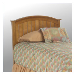Fashion Bed - Fashion Bed Finley Wood Headboard in Maple-Twin - Fashion Bed - Headboards - 51L543 - The country styled Finley Headboard features wainscoted detailing and arched crown molding. Solid in appearance it is also warm and inviting reflecting Mission sensibilities but with a contemporary flair.