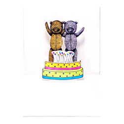 Freddy Dico - 3D Celebration Pop-Up Card - Commensurating those special moments with this handcrafted pop-up art will bring any celebration to life!