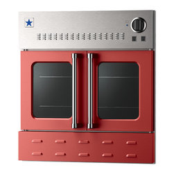 "BlueStar 36"" Single Wall Oven- Gas Oven - Ruby Red (RAL 3003)"