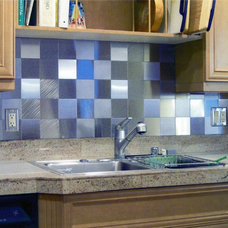 Contemporary Tile by U.S. Sheet Metal Company, Inc.