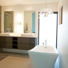 Contemporary Bathroom by The Ranch Mine
