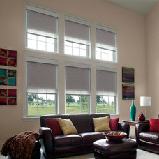 Contemporary Curtains Lutron
