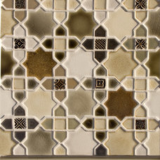 Eclectic Fireplaces by Pratt and Larson Ceramics