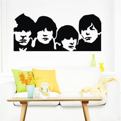 ColorfulHall Co., LTD - Wall Decals For Kids famouse singer celebrity Beatles - Wall Decals For Kids famouse singer celebrity Beatles