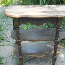 traditional side tables and accent tables by Etsy