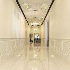 Modern Hall by Porcelanosa USA