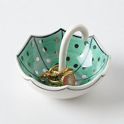 Molly Hatch - Umbrella Ring Dish - A cute little ring dish adds some personality to a guest room — and can really come in handy!