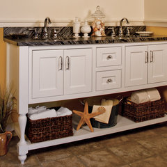 traditional bathroom vanities and sink consoles by Versiniti