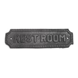 Black Powder Coat Door Plaques - Black Powder Coat Door Plaques: Decorative door plaques feature intricately wrought detailing and a durable black powder coat finish to provide years of dependable service.