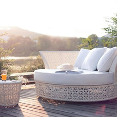 contemporary outdoor chaise lounges by Brook Leisure