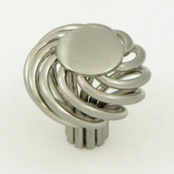 Stone Mill - Cornwall Birdcage Satin-Nickle Cabinet Knobs (Pack of 25) - Refresh your old cabinets with these stylish cabinet knobs. These distinctive knobs are made from high-quality steel and feature a satin nickel finish. Its classy birdcage design is sure to complement the d_cor of your cabinet area.