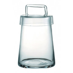 Glass Canister with Handle Cover - Accessories