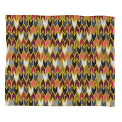 DENY Designs - Sharon Turner Saffron Pepper Fleece Throw Blanket - This DENY fleece throw blanket may be the softest blanket ever! And we're not being overly dramatic here. In addition to being incredibly snuggly with it's plush fleece material, it's maching washable with no image fading. Plus, it comes in three different sizes: 80x60 (big enough for two), 60x50 (the fan favorite) and the 40x30. With all of these great features, we've found the perfect fleece blanket and an original gift! Full color front with white back. Custom printed in the USA for every order.