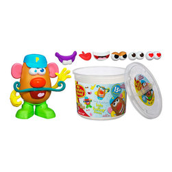 KOOLEKOO - Mr. Potato Head Tater Tub - Create a funny face, grab a nose and a mouth, and never stop laughing with the Tater Tub set! The more mixed up the combinations with the nose, ears, mouth and other silly features in this set, the more fun your little one will have. You know he's learning body parts and facial expressions, but he'll just think he's being silly and sharing giggles!