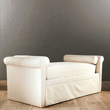 Traditional Indoor Chaise Lounge Chairs by Ballard Designs