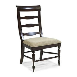 Panama Jack Old Havana Wood Slat Side Chair