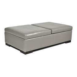 Axis Storage Ottoman - Living Spaces