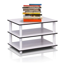 Furinno - Furinno 11173 Just 3-Tier Coffee Table - Furinno Just Series No Tools No hassles shelves and tables features the serenity of the Japanese living room life style. The white finished of the product delivers the clean and cozy feel and blend in with any room decor. These multifunctional tables and shelves suitable for any room that need storage shelves, display, TV entertainment or even kids room. The designs are simple and basic which fit into a modern stylish lifestyle. This series are made of 12mm E1 Grade Particleboard made from recycled materials of rubber trees, eco-friendly. All the materials are manufactured in Malaysia and comply with the green rules of production. There is no foul smell, durable and the material is the most stable amongst the particleboards. A simple attitude towards lifestyle is reflected directly on the design of Furinno Furniture, creating a trend of simply nature. All the products are produced and assembled 100-percent in Malaysia with 95% - 100% recycled materials.