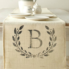 traditional table linens by Garnet Hill