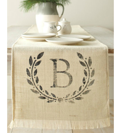 Traditional Table Runners by Garnet Hill