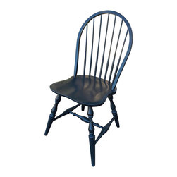 Fable Porch Furniture - Winthrop Side Chair, Picket Fence-Outer Banks Coastal - American made from domestic maple or cherry.